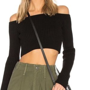 Friends and Lovers Bells crop sweater.
